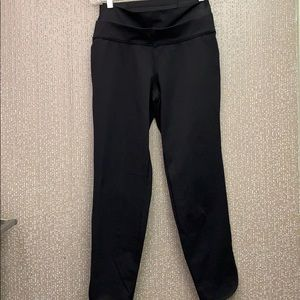 Lululemon double waist high rise joggers 6